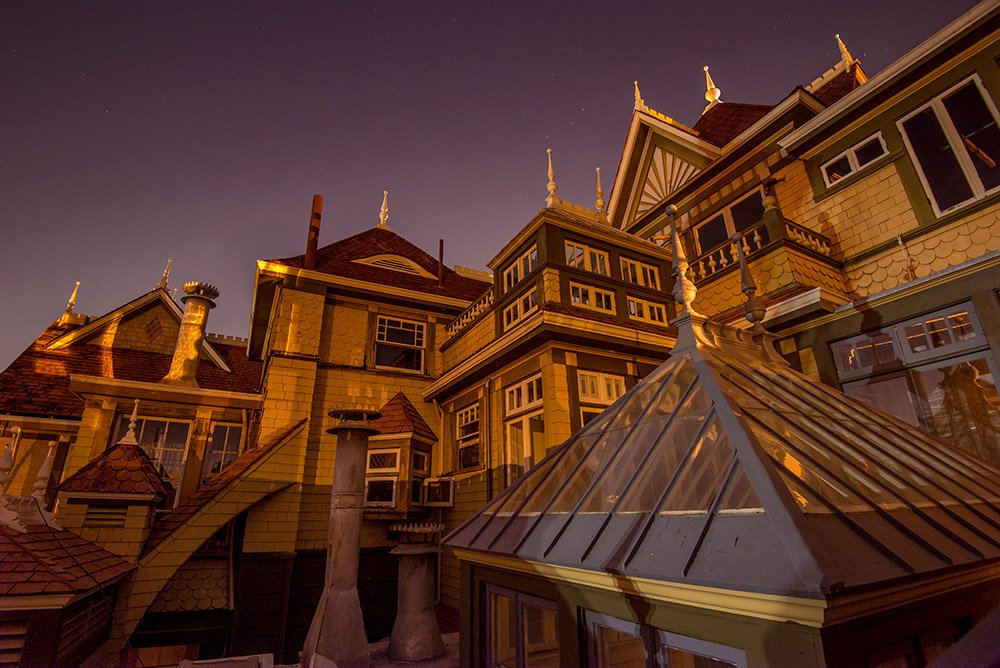 Firday the 13th Flashlight Tours at the Winchester Mystery House