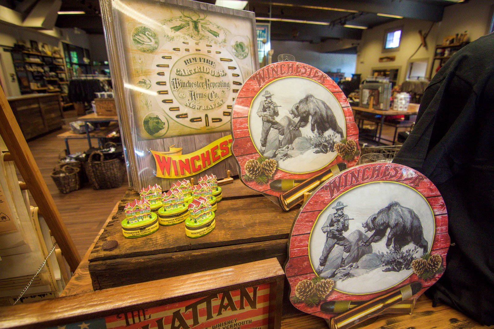 "Now Open: ""The Mercantile"" at Winchester Mystery House!"