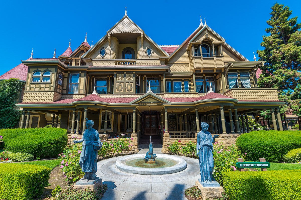 Victorian Gardens at the Winchester Mystery House