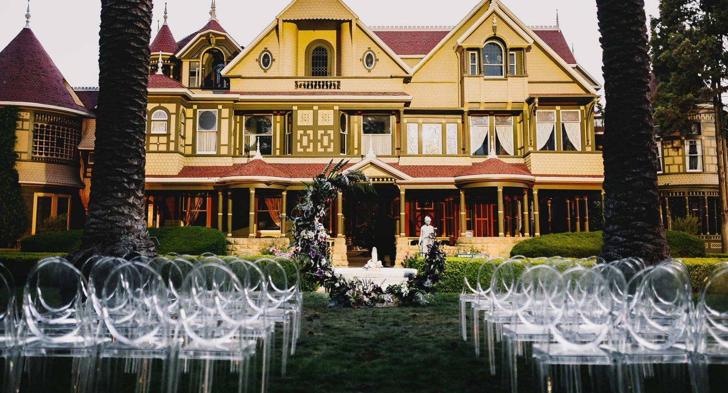 Wedding's at the Winchester Mystery House