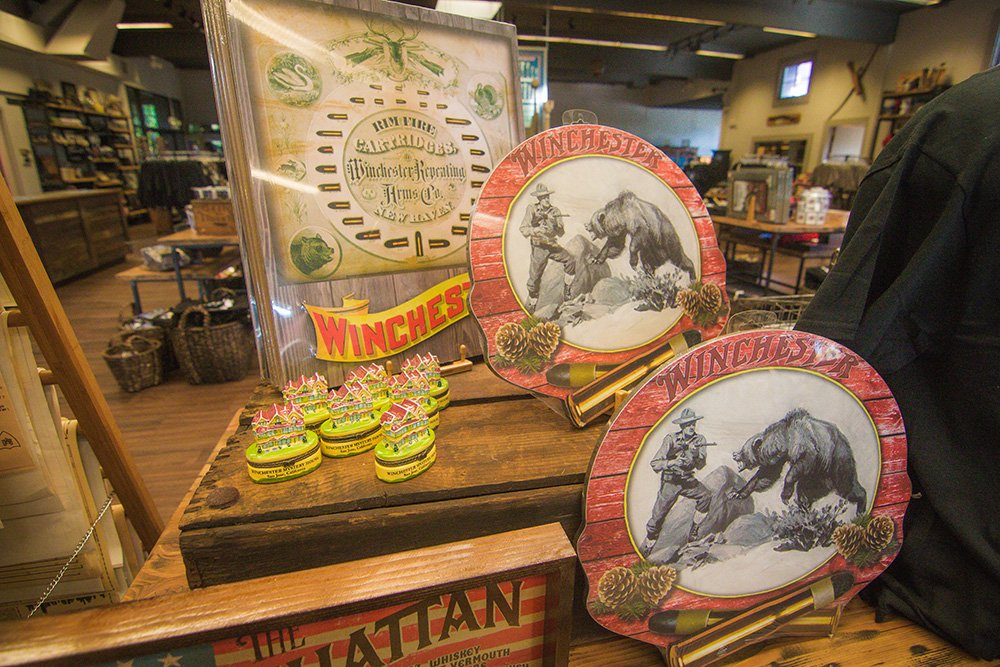 Mercantile Gift Shop at the Winchester Mystery House