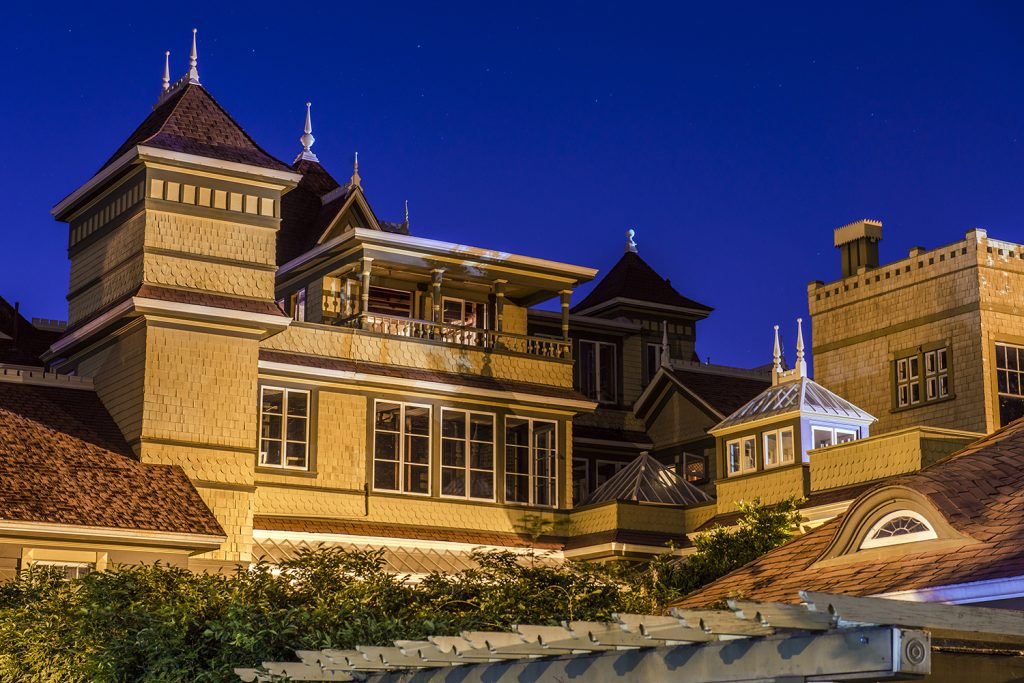 Central Courtyard of the Winchester Mystery House