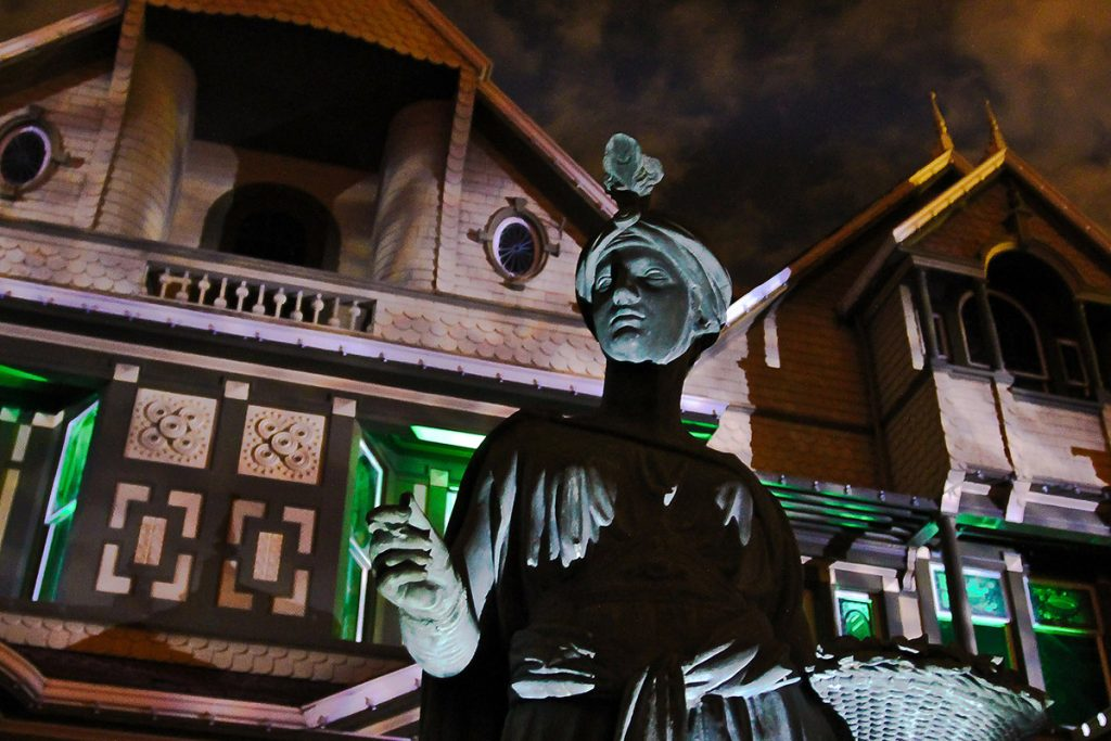Halloween at the Winchester Mystery House