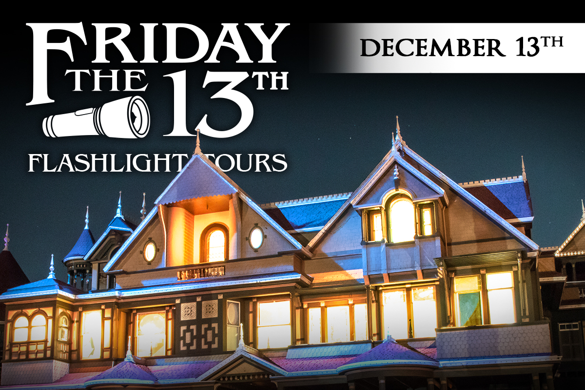 friday the 13th flashlight tours at the winchester mystery house