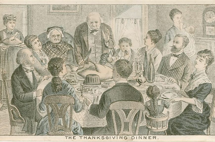 a victorian thanksgiving